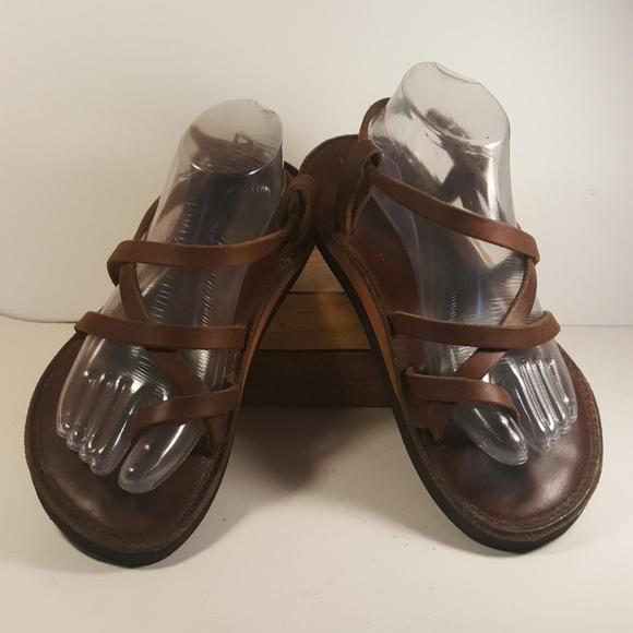 2429575e408f10 Piper Sandals Handmade Brown Leather Men Size 7. M 5aa7119d85e605d6817f2f17